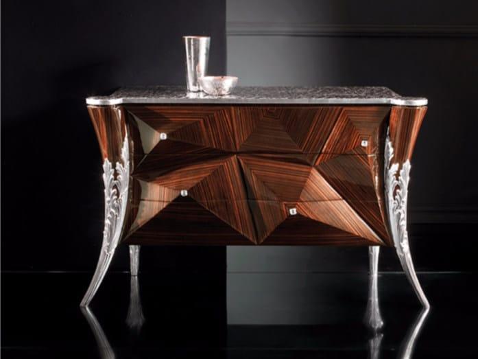 Wood veneer dresser B120R | Dresser - Rozzoni Mobili d'Arte