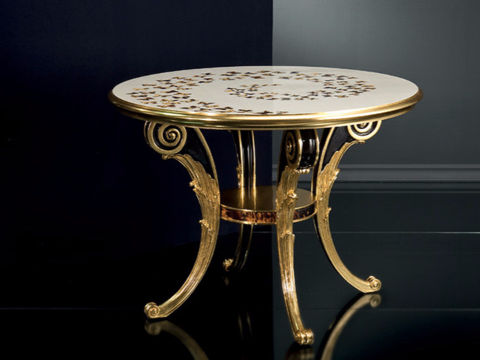 Round living room table B121 | Table by Rozzoni