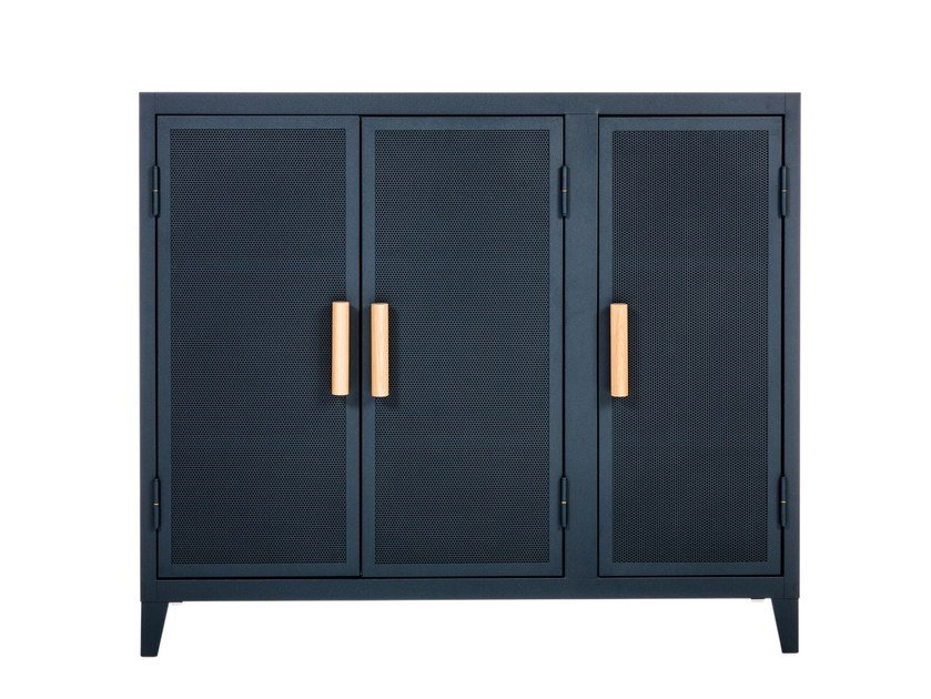 Metal highboard with doors B3 | Highboard - Tolix Steel Design