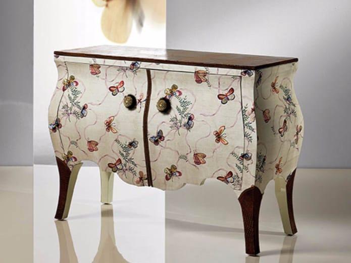Fabric dresser B336F   Dresser - Rozzoni Mobili d'Arte