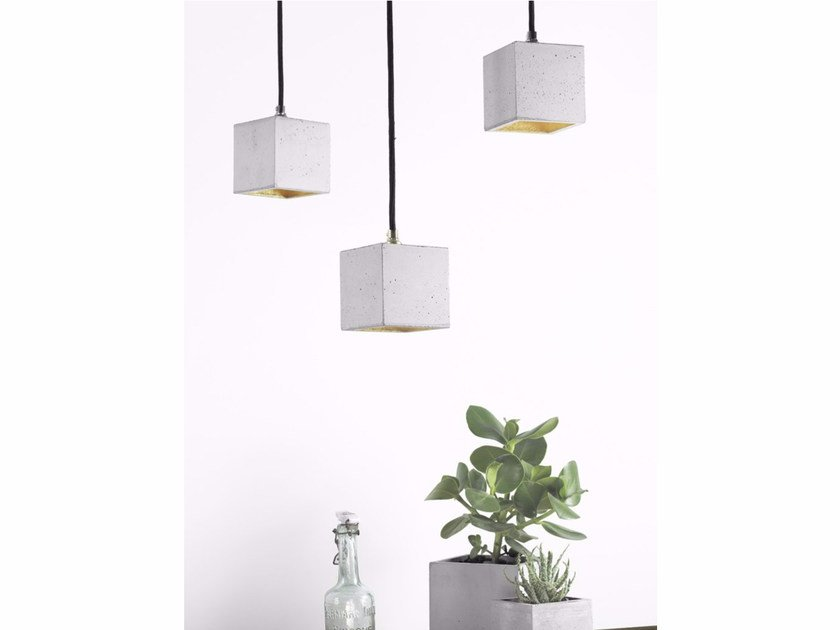 Direct light cement pendant lamp [B6] | Direct light pendant lamp - GANTlights