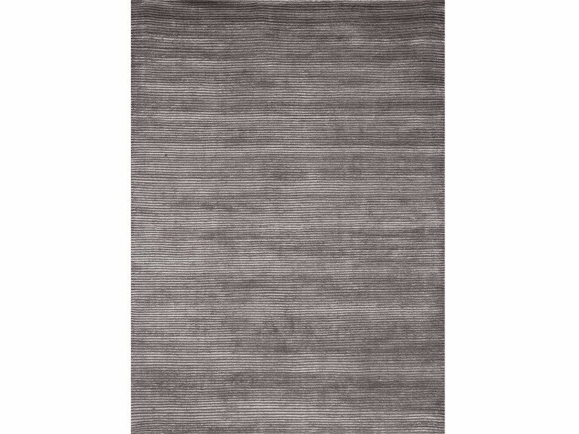 Handmade rug BASIS MEDIUM GREY - Jaipur Rugs