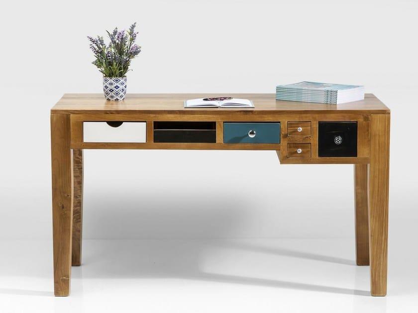 Latest scrivanie legno design scrivania in legno con - Scrivanie legno design ...