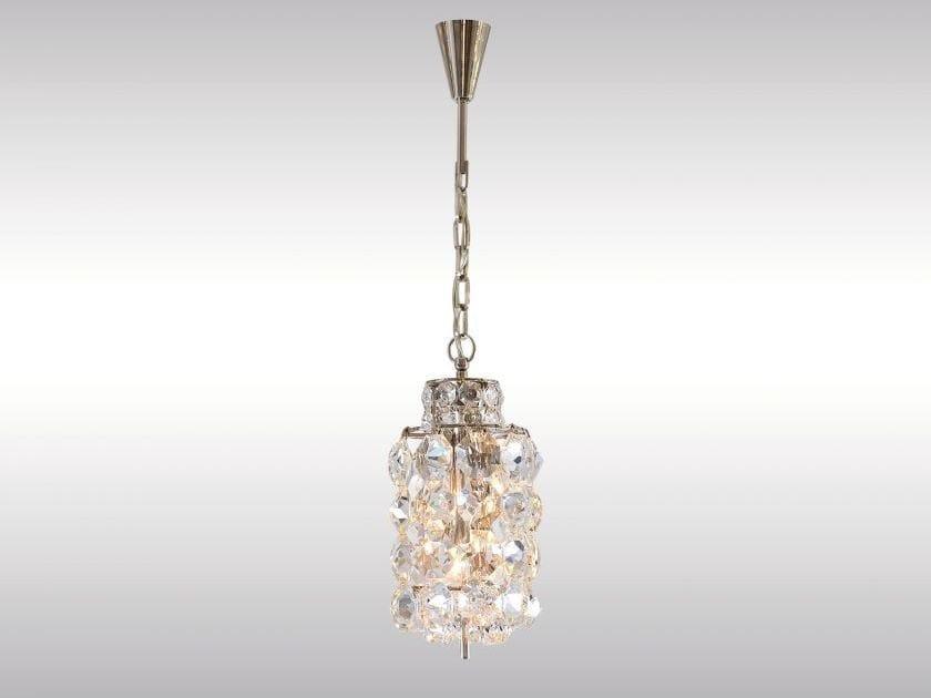 Classic style crystal pendant lamp BAKALOWITS LANTERN - Woka Lamps Vienna