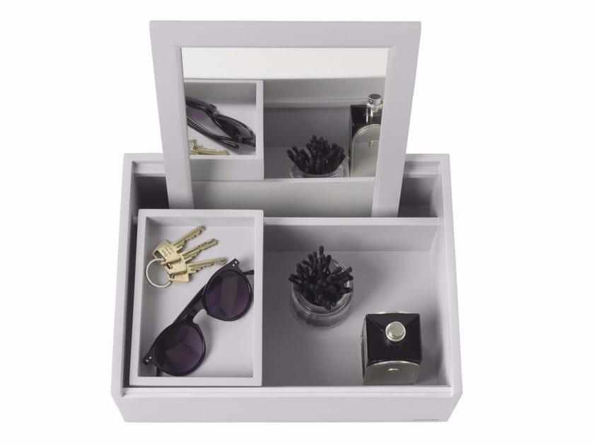 Balsa wood storage box BALSABOX PERSONAL MINI by NOMESS COPENHAGEN