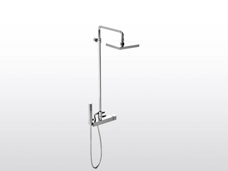 Shower panel with hand shower BAMBOO QUADRO 3283TB/306 - RUBINETTERIE STELLA