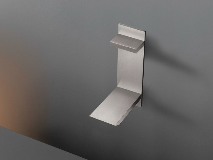 Wall mounted hydroprogressive mixer with spout BAR 13 by Ceadesign