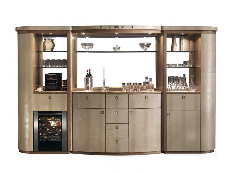 Mobile bar in pelle LONDON | Mobile bar - Formitalia Group