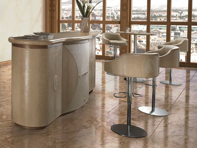 Leather bar counter LONDON | Bar counter - Formitalia Group