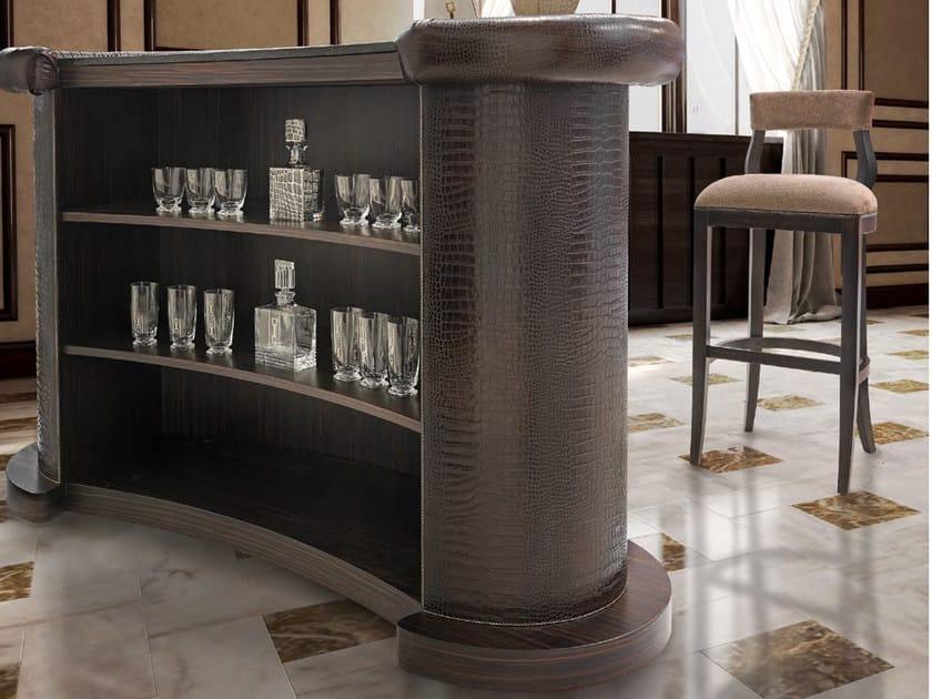 Bancone bar in pelle PLAZA | Bancone bar by Formitalia Group