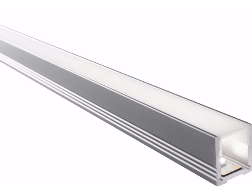 Ceiling mounted aluminium lighting profile for LED modules BARD ALTO | Ceiling mounted lighting profile - GLIP by S.I.L.E