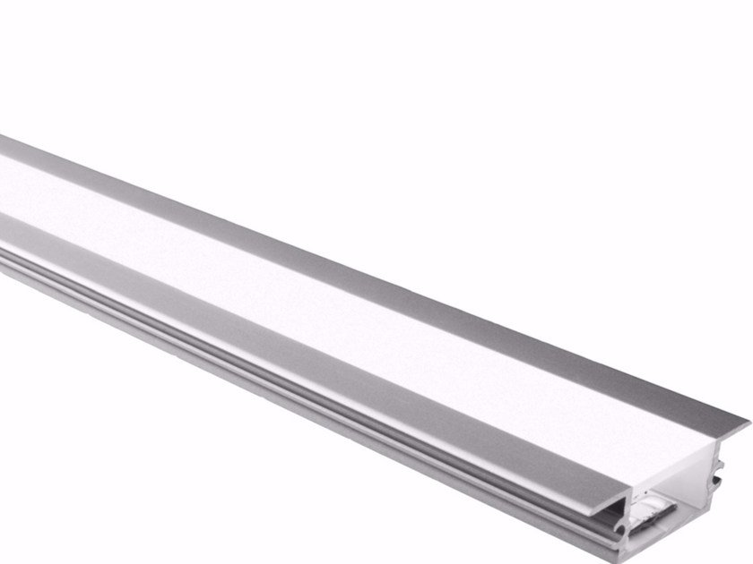 Built-in aluminium lighting profile for LED modules BARD BASSO | Built-in lighting profile - GLIP by S.I.L.E