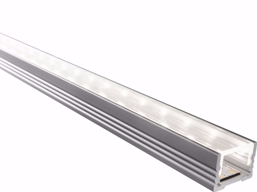 Ceiling mounted aluminium lighting profile for LED modules BARD BASSO | Ceiling mounted lighting profile - GLIP by S.I.L.E