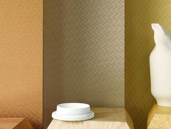 Fire retardant jacquard polyester fabric BARRETTE by LELIEVRE