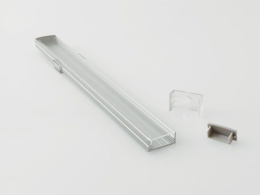 Linear lighting profile for LED modules BARRA/STRIP/10 by NOBILE ITALIA