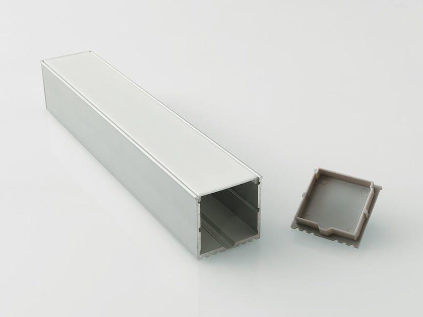 Profilo per illuminazione lineare da parete in alluminio BARRA/STRIP/13 - NOBILE ITALIA