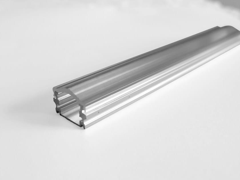 Profilo per illuminazione con diffusore BARRA/STRIP/2 - NOBILE ITALIA