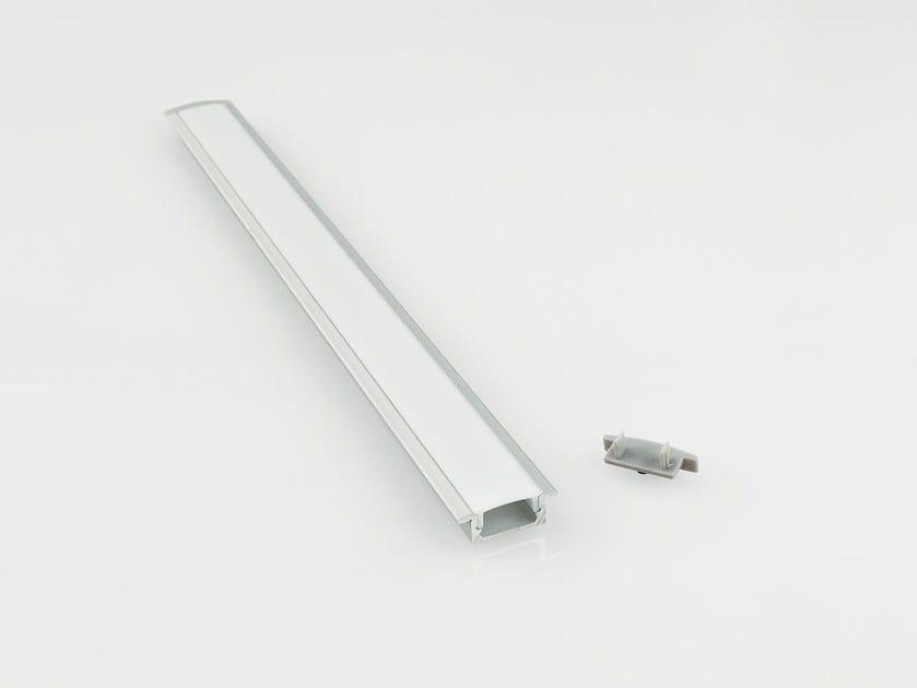 Profilo per illuminazione lineare con diffusore BARRA/STRIP/9 - NOBILE ITALIA
