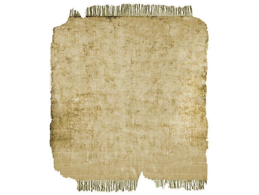 Handmade rug BARTAURE SUNDRE GOLD FROZEN CUT - HENZEL STUDIO
