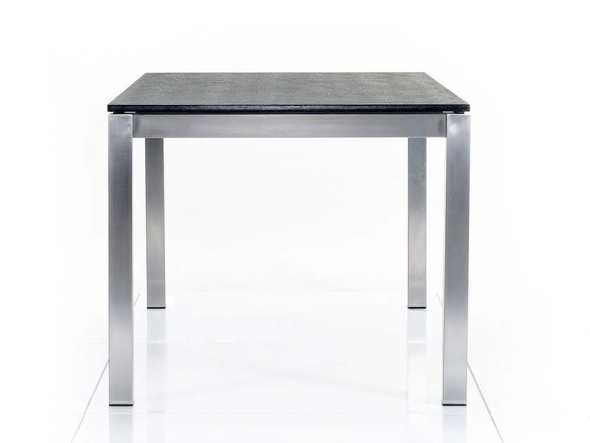 Square granite dining table BASE | Square table - solpuri