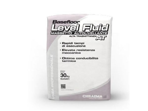 Screed and base layer for flooring BASEFLOOR LEVEL FLUID AT - CHIRAEMA