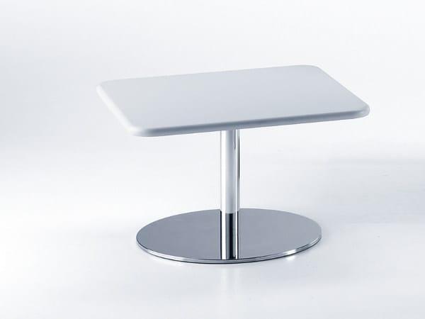 Tavolino quadrato in MDF da salotto BASIC 853 - TALIN