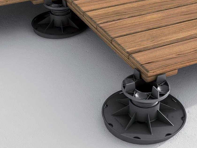 Sistema modulare per pavimento sopraelevato basic eterno - Pavimento flottante per esterni prezzi ...