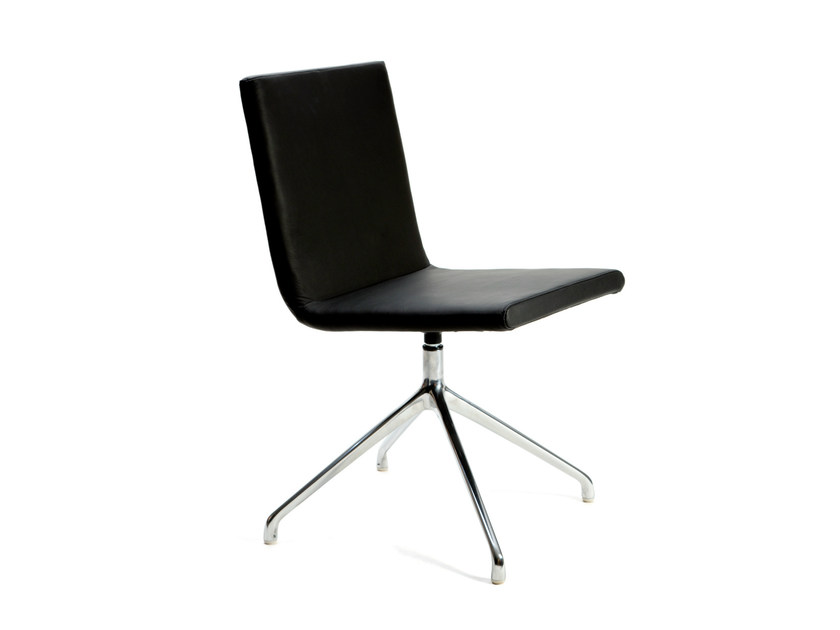 Chair BASSO S MEETING | Trestle-based chair - Inno Interior Oy