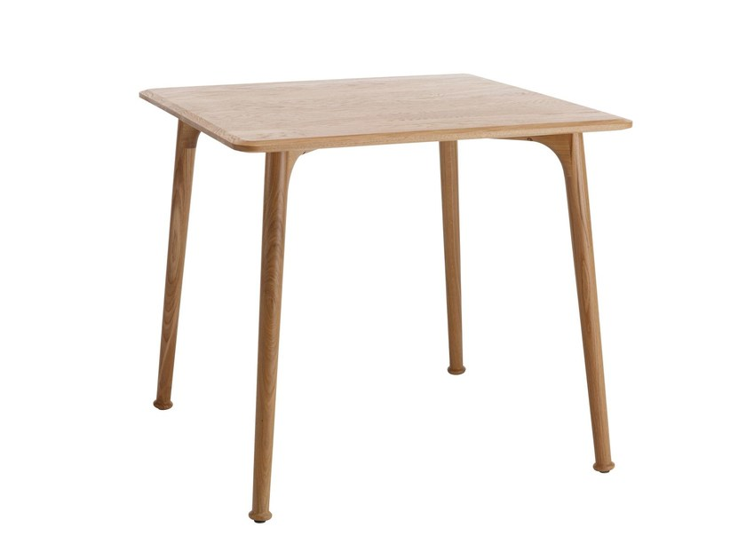 Square MDF table BAT | Square table by Karl Andersson