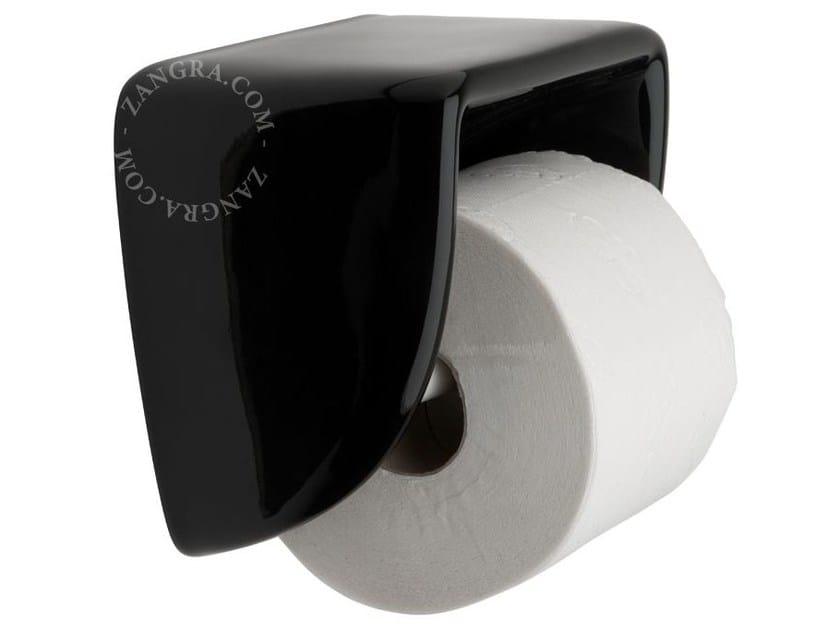 Porcelain toilet roll holder BATHROOM | Toilet roll holder - ZANGRA