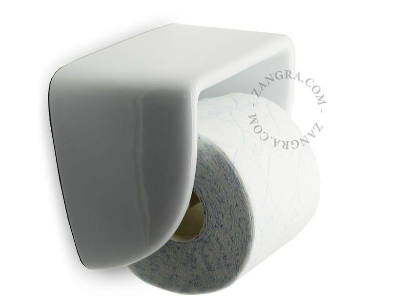 Porcelain toilet roll holder BATHROOM | Porcelain toilet roll holder by ZANGRA