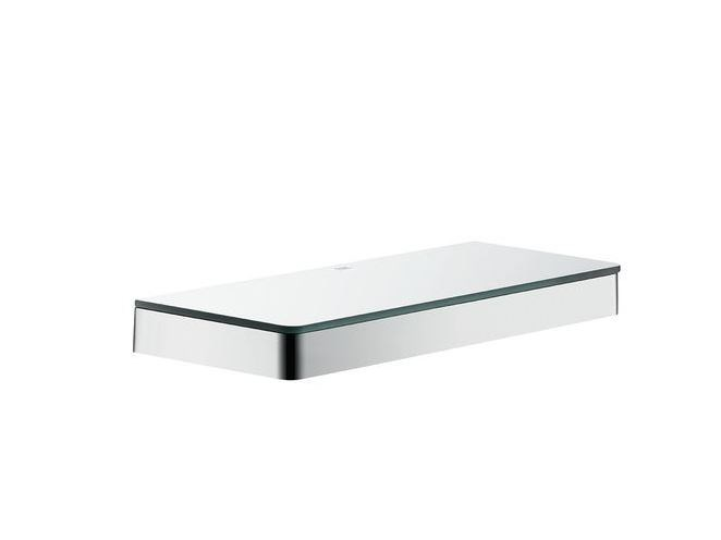 Bathroom wall shelf AXOR UNIVERSAL | Bathroom wall shelf - HANSGROHE