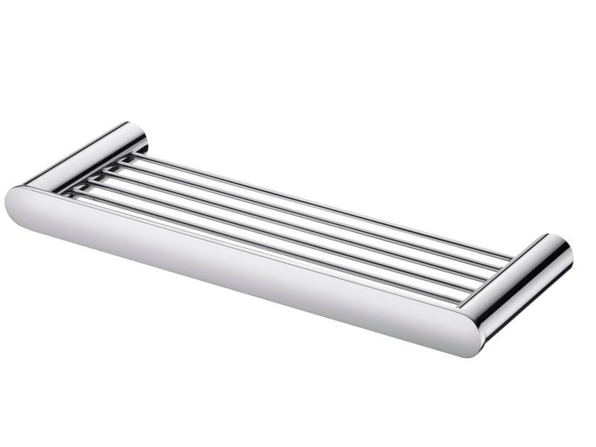 Chromed brass bathroom wall shelf CHARMING | Bathroom wall shelf - JUSTIME