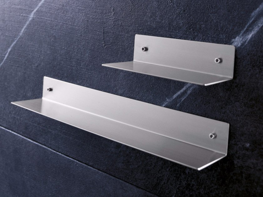 Stainless steel bathroom wall shelf ACN4 | Bathroom wall shelf by Radomonte