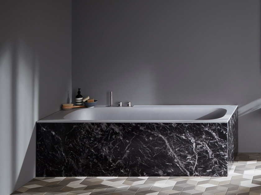 Rectangular marble bathtub R1 | Bathtub - Rexa Design
