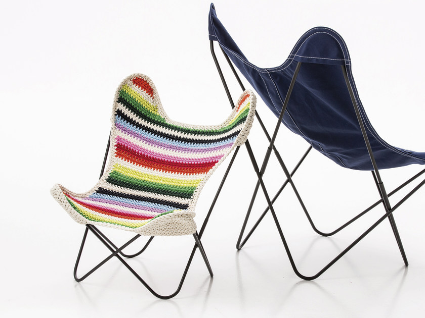 Fabric easy chair BB BY ANNE-CLAIRE PETIT by AIRBORNE