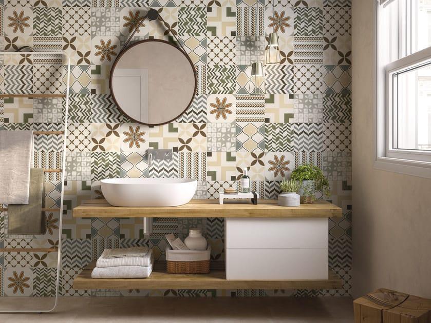 Pavimento rivestimento in gres porcellanato per interni be - Cementine cucina ...