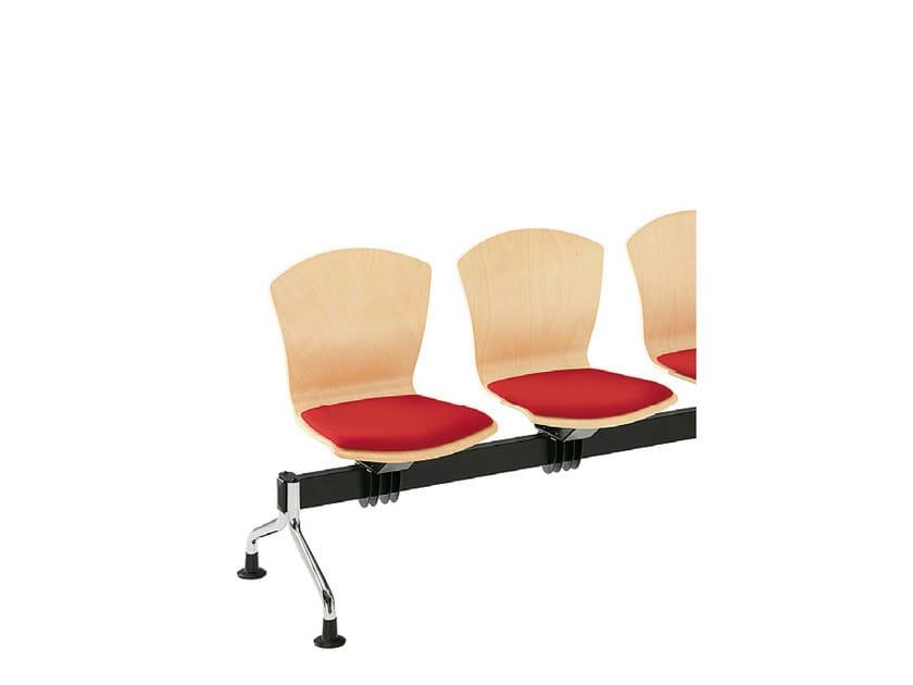 Beech beam seating TA-CHERIE | Beam seating - Sesta