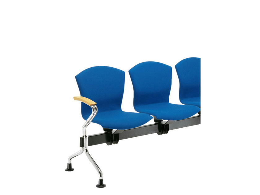 Beam seating with armrests TA-CHERIE | Beam seating with armrests by Sesta