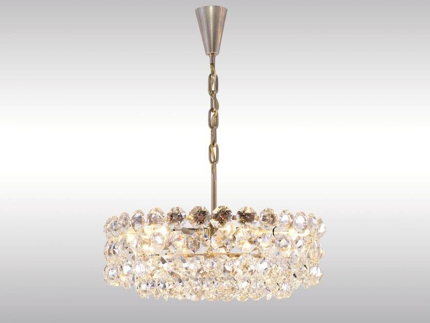 Classic style crystal pendant lamp BEAUTIFUL BAKALOWITS CHANDELIER by Woka Lamps Vienna