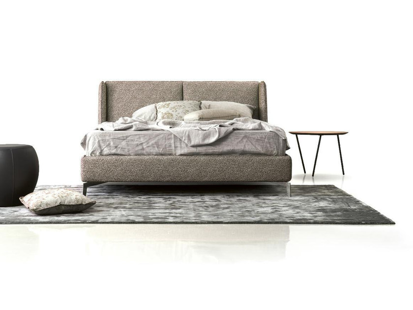 Upholstered fabric double bed ANN | Bed by Papadatos