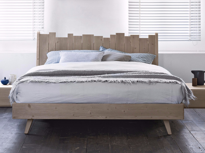 Spruce double bed BARRIQUE | Bed by Scandola Mobili