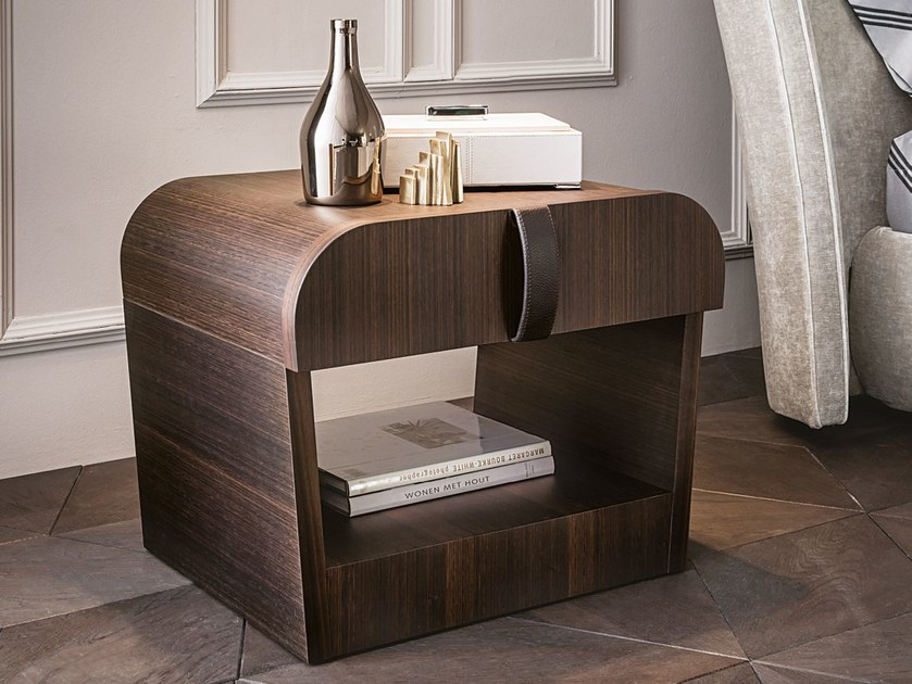 MDF bedside table with drawers ROMEO | Bedside table - Casamilano