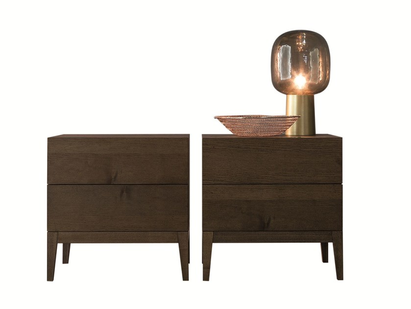 Bedside table with drawers LEGEND | Bedside table by Twils