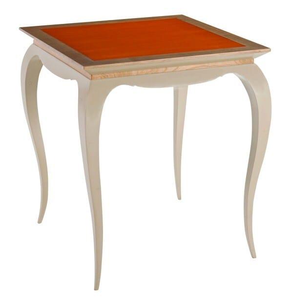 Square wooden side table BEL AMI - ROCHE BOBOIS