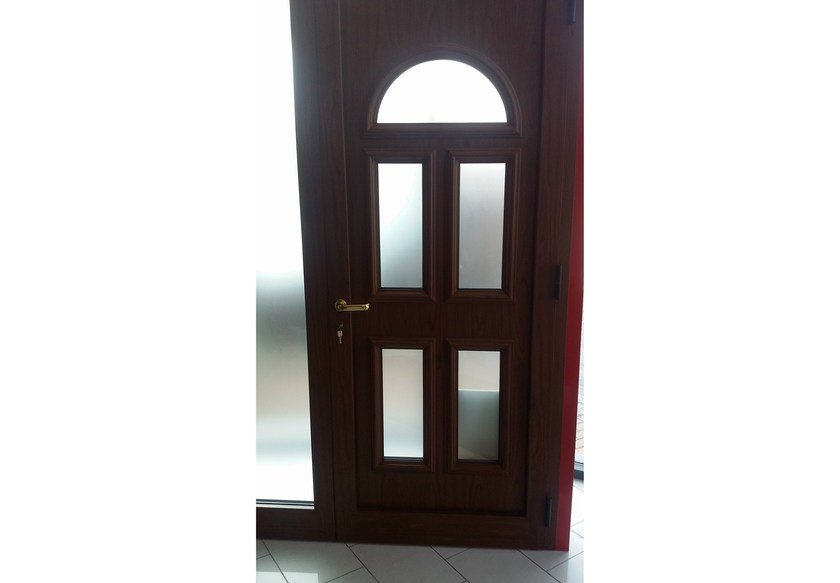 Glass and aluminium door panel BELLATRIX/K5 by ROYAL PAT