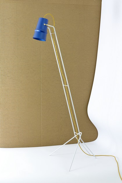 Aluminium floor lamp BELLE D'I | Floor lamp by Hind Rabii