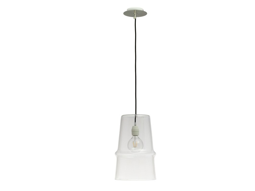 Glass pendant lamp BELLE D'I - Hind Rabii