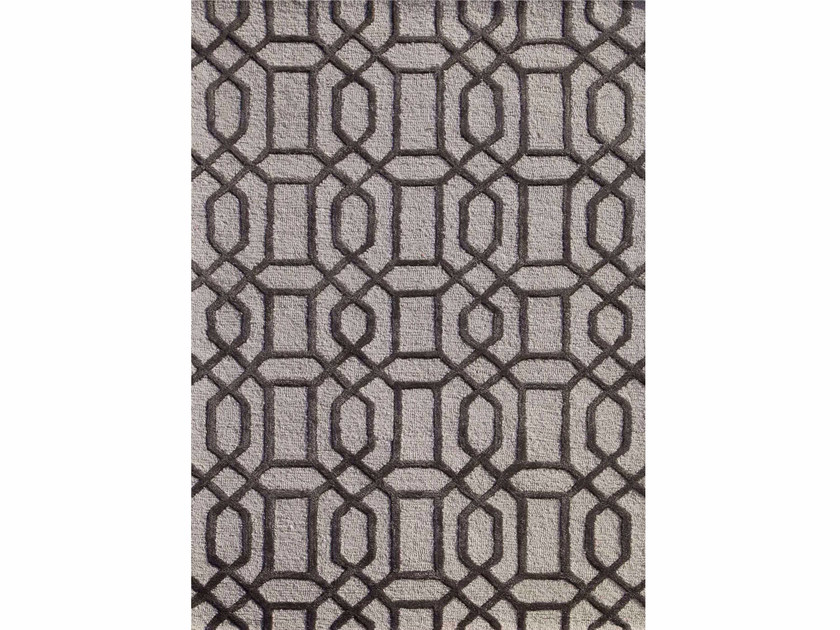 Rug with geometric shapes BELLEVUE TAQ-232 by Jaipur Rugs