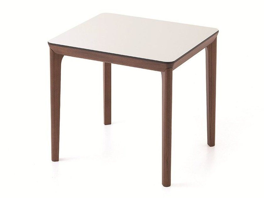 Contemporary style rectangular square wooden contract table BELLEVUE T05 - Very Wood